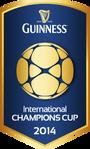 2014 Guinness International Champions Cup logo