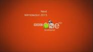 BBC One Scotland Wimbledon 2015 Coming up Next bumper