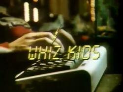 Whiz Kids Title Card