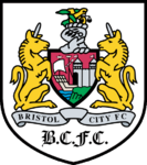 Bristol City FC logo (1996-1997, away)