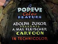 Popeye 1937 Special