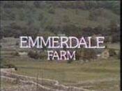 Emmerdale Farm Intro Oct 16 1972