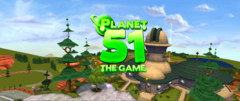 Planet 51 Wii Game In-Game Title Anamorphic Widescreen