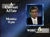 WBRC Channel 6 A Current Affair promo 1989