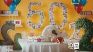 BBC Two 50 Cake ident