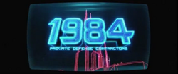 1984 Private Defense Contractors 2014 Logo