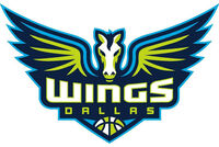 Dallas wings logo detail