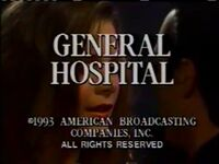 General Hospital Video Close From May 13, 1994 - 3