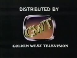 Golden West Television logo 1983