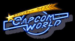 Capcom World Adventure Quiz Logo