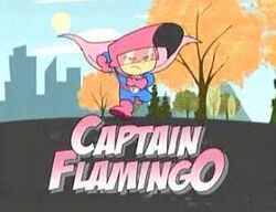 Captain flamingo