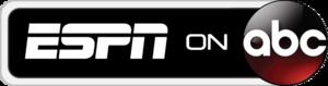 ESPN on ABC logo 2D.