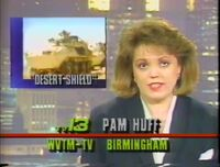 WVTM-TV Alabama's News at 10 with Pam Huff January 1991