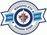 Winnipeg Jets logo (inaugural season)