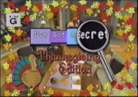 I've Got a Secret Thanksgiving Edition