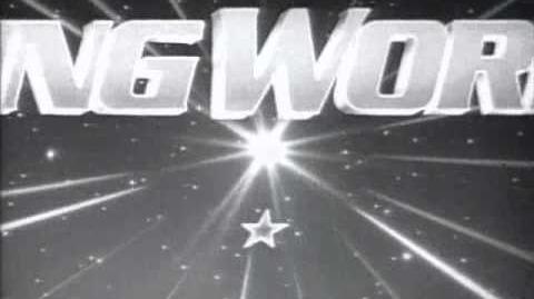 King World (1985) B&W Stars and Stripes