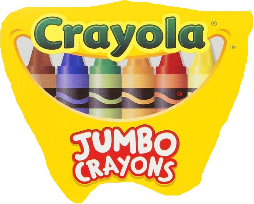 crayola jumbo crayonspng - Crayola Sign