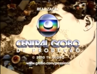 Passione seal long Globo 2008 logo 2010