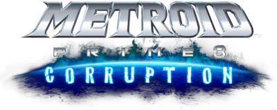 Metroid Prime 3 logo (Transparent)