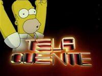 Tela Quente com o Homer Simpson