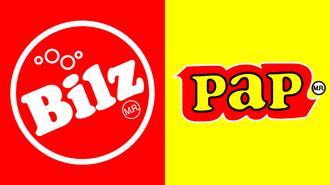 Logo bilz y pap 1980