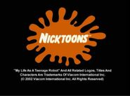 Nicktoons Productions, My Life As A Teenage Robot