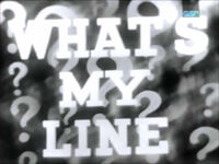 What's My Line 1951