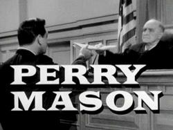 Perry Mason Title Screen