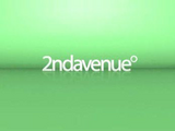 2nd Avenue Logo Green Backround