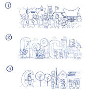 Google Indonesia Independence Day 2014 (Storyboards 2)