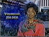 WBRC-TV Channel 6 251-5131 Volunteer 1990