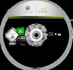 Xbox disc template by georgiajedward-d4yqmh7