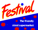 Festival the Friendly Sized Supermarket logo