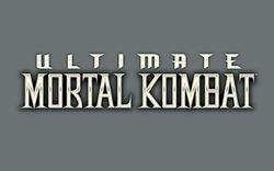 Ultimate Mortal Kombat Logo Wallpaper