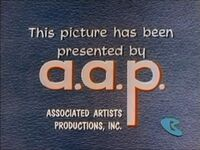 Associated Artists Productions logo