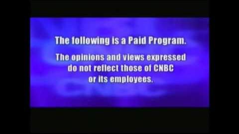 CNBC Paid Programming Intro Outro Disclaimer (????-2016)