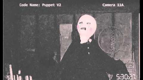 LEAKED Puppet Animatronic