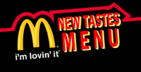 New Tastes Menu logo 2004