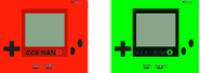 Nano red & green