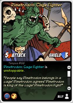 Dimetrodon - Cage Fighter