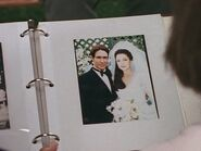 Lex and Arianna on their Wedding Day