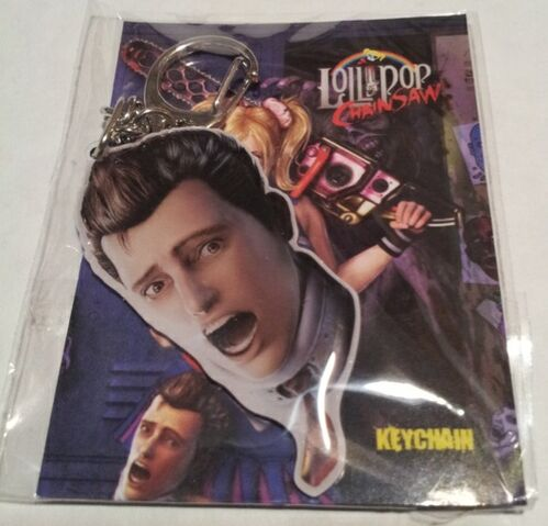File:Lollipop Chainsaw - Swag Box 01 - Nick Head keychain.jpg