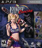 Lollipop Chainsaw Box Art PS3 USA