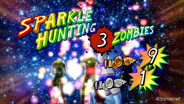 File:Lollipop Chainsaw Sparkle Hunting 3 zombies.jpg