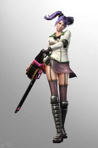 Lollipop Chainsaw Skins Saeko Busujima cosplay (Highschool of the Dead)