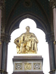 Albert Memorial Statue Close Up