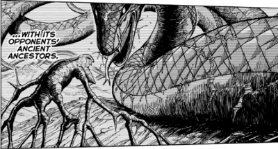 Toriko Mother Snake