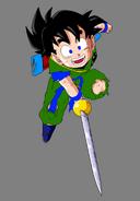 Gohan infante con espada by dbkaifan2009-d38l1b9