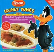492px-Daffy Duck Spaghetti & Meatballs