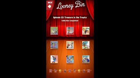 Looney Tunes Dash Card Collection Episode 13 Treasure in the Tropics-0